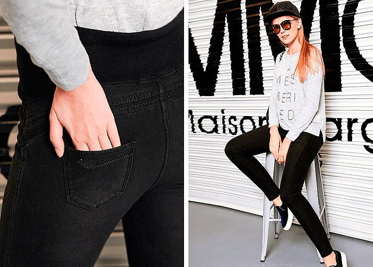 Модная-джинса-для-беременных