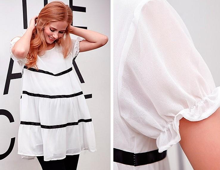 белое-платье-для-беременных-на-лето