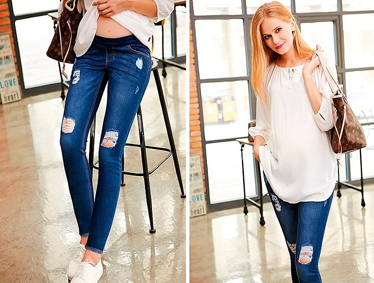 джинсы-для-беременных-в-интернет-магазине